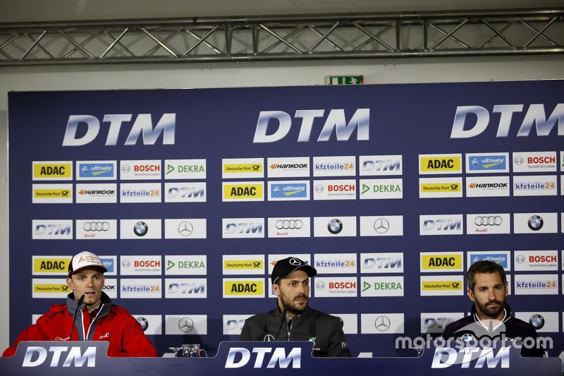 Jamie Green, Audi Sport Team Rosberg, Audi RS 5 DTM; Gary Paffett, ART Grand Prix, Mercedes-AMG C63
