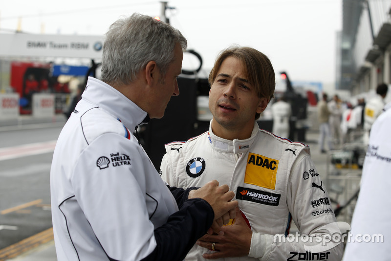 Jens Marquardt, BMW Motorsport Director and Augusto Farfus, BMW Team RBM BMW M34 DTM