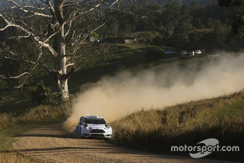 Ott Tanak und Molder Raigo, M-Sport Ford Fiesta WRC
