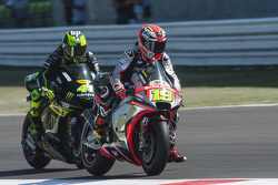 Alvaro Bautista, Aprilia Racing Team Gresini and Pol Espargaro, Tech 3 Yamaha