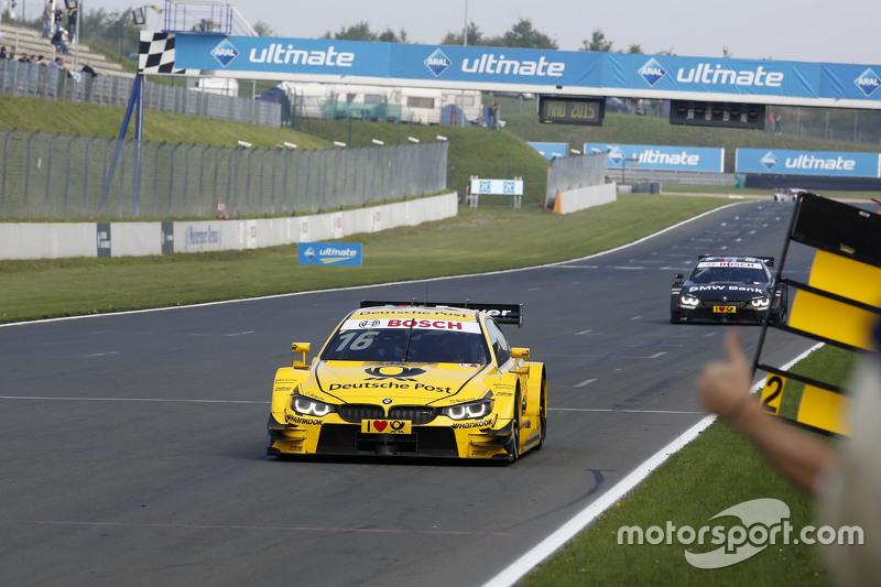Winner Timo Glock, BMW Team MTEK BMW M3 DTM