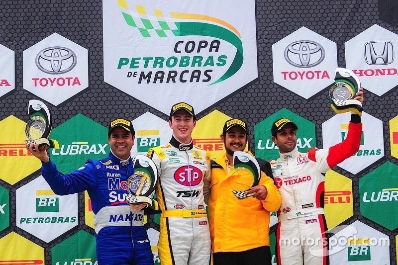 Pódio Brasileiro de Marcas - Campo Grande corrida 1