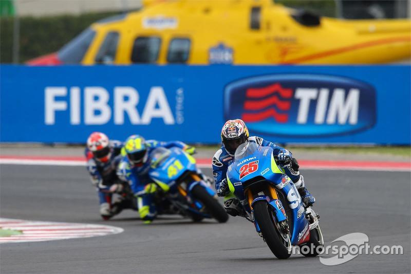 Maverick Viñales ve Aleix Espargaro, Suzuki MotoGP Takımı