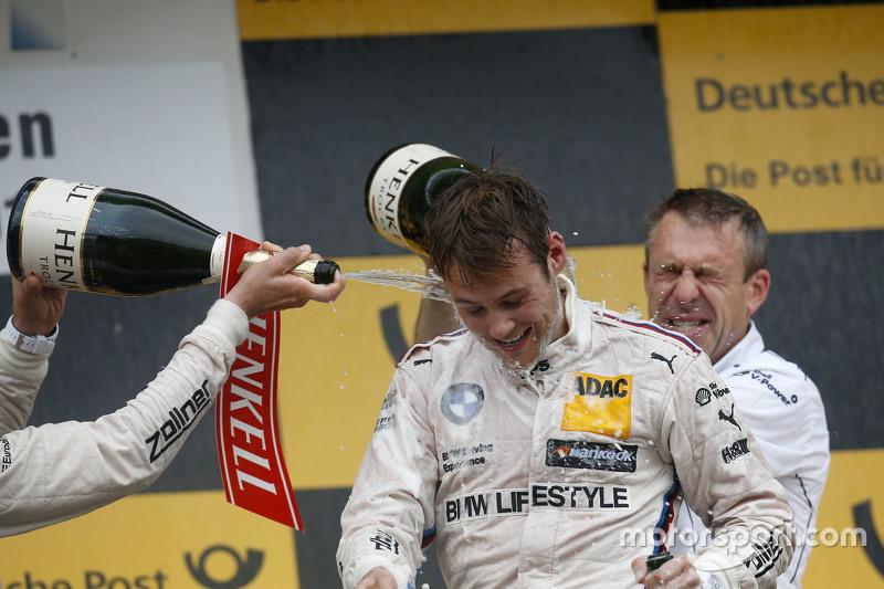 Podium: 1. Tom Blomqvist, BMW Team RBM, BMW M4 DTM