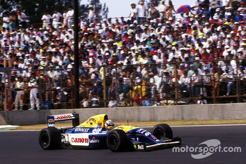 1992: Найджел Мэнселл, Williams FW14B Renault