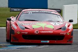 #21 Rosso Verdi Ferrari 458 İtalya Hector Lester, Benny Simonsen