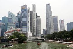 Une vue de Singapour