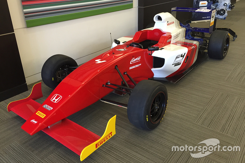 New F4 United States Championship car