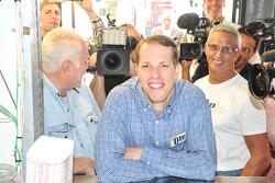 Бред Кеселовскі, Team Penske Ford visits the press in Chicago