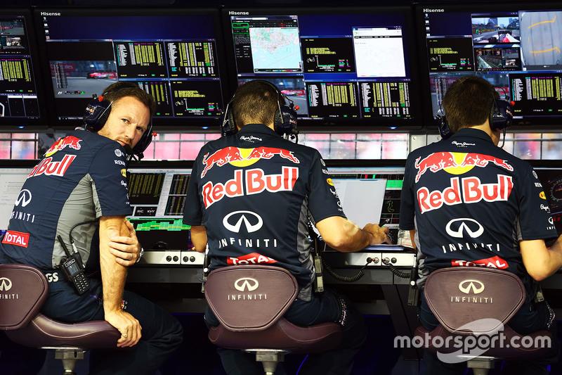 Крістіан Хорнер, Red Bull Racing Керівник команди на командному містку