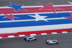 #1 Toyota Racing Toyota TS040 Hybrid: Sébastien Buemi, Anthony Davidson, Kazuki Nakajima y #18 Porsc