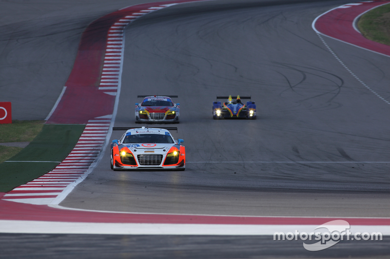#76 Compass360 Racing Audi R8 LMS: Ray Maсин, Pierre Kleinubing