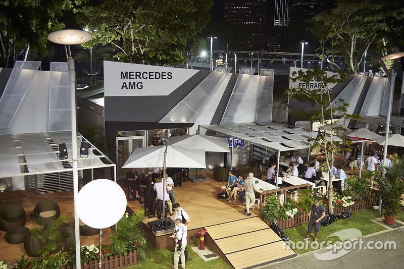 Mercedes AMG F1, Hospitality