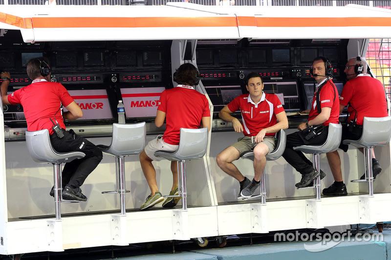 Fabio Leimer, Manor Marussia F1 Team Reserve Driver