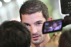 Alexander Rossi, Manor F1 Team avec les médias