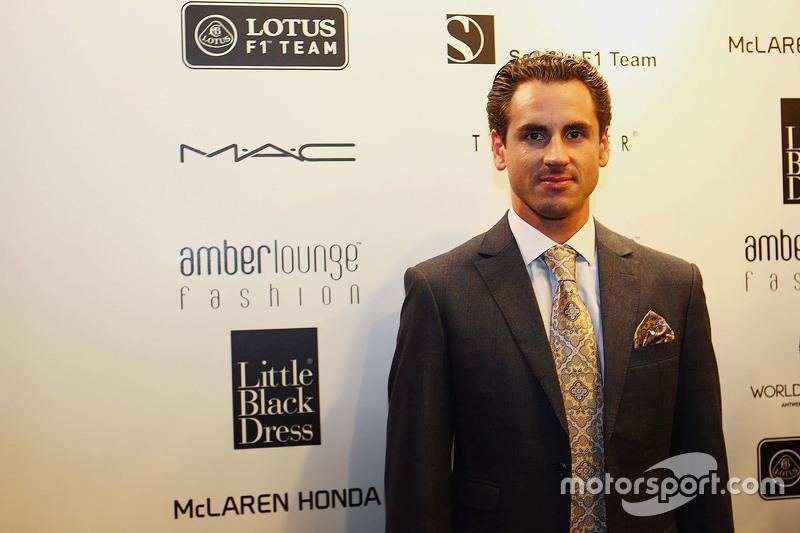 Adrian Sutil, Pilote d'essais et de réserve Williams à l'Amber Lounge Fashion Show