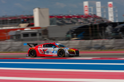 #45 Flying Lizard Motorsports Audi R8 LMS: Mike Vess, Jason Hart