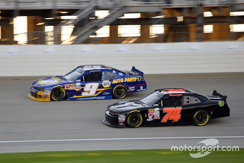Майк Хармон та Чейз Елліот, JR Motorsports Chevrolet