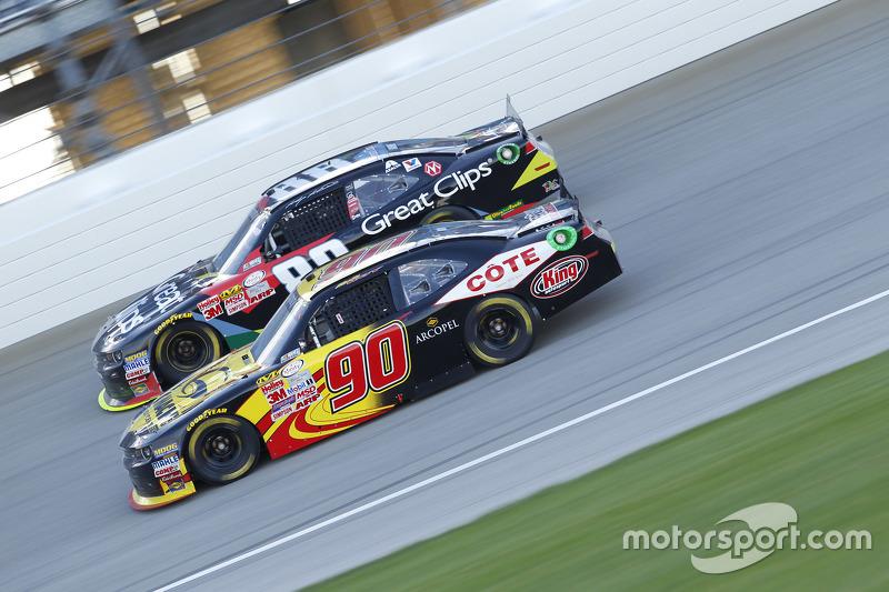 Martin Roy та Кейсі Кейн, JR Motorsports Chevrolet