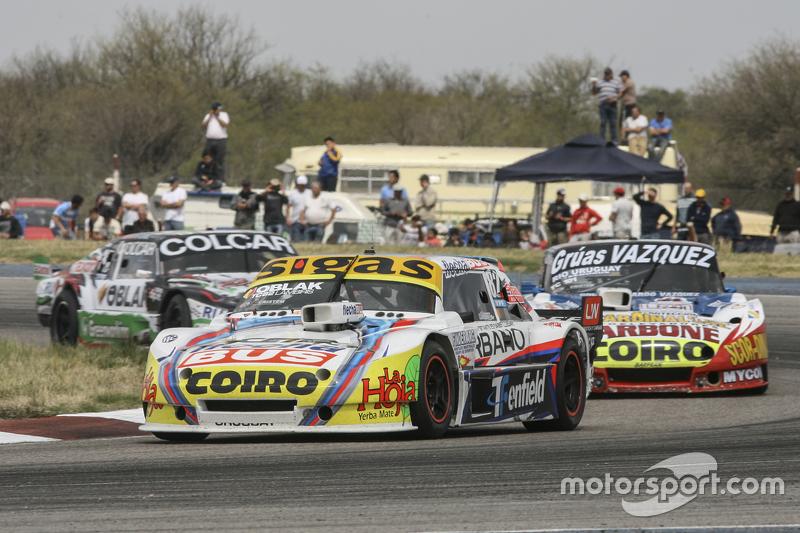 Mauricio Lambiris, Coiro Dole Racing Torino ve Lionel Ugalde, Ugalde Competicion Ford ve Gaston Mazzacane, Coiro Dole Racing Chevrolet