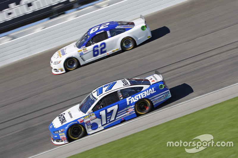 Ricky Stenhouse Jr., Roush Fenway Racing Ford; Timmy Hill