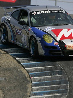 #41 TRG Porsche 997: Ted Ballou, Andy Lally