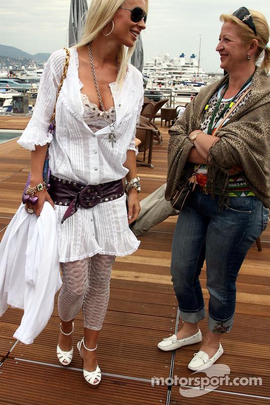 Cora Schumacher, Wife of Ralf Schumacher at Monaco GP