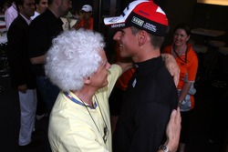 Adrian Sutil, Spyker F1 Team and his father