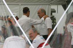 Michael Schumacher, Scuderia Ferrari, Advisor, and Karl-Heinz Zimmermann