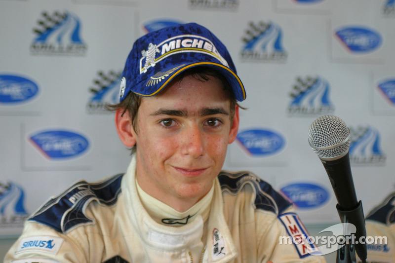 2007 Esteban Gutiérrez en la Fórmula BMW USA