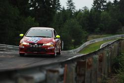 #229 Honda Civic Type-R: Christoph Lötscher, Jean-François Stoeckli, Steve Zacchia