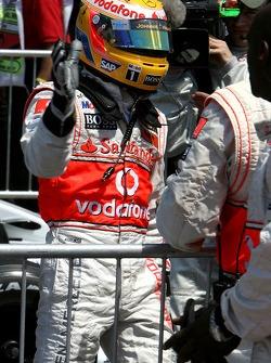 Pole Position, Lewis Hamilton, McLaren Mercedes, MP4-22