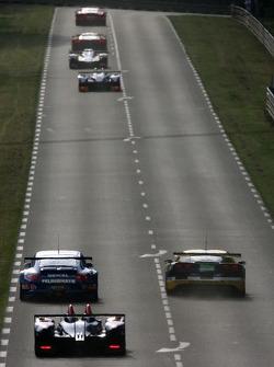 Qualifying action exiting Mulsanne corner