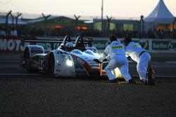 Trouble for #44 Kruse Motorsport Pescarolo Judd: Tony Burgess, Jean De Pourtales, Norbert Siedler