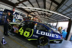 Lowe's Chevy garage area