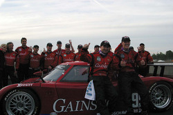Gainsco/Bob Stallings Racing celebrate their win