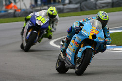 Chris Vermeulen and Valentino Rossi
