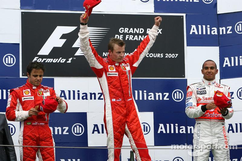 8- Gran Premio de Francia 2007 (3º), McLaren