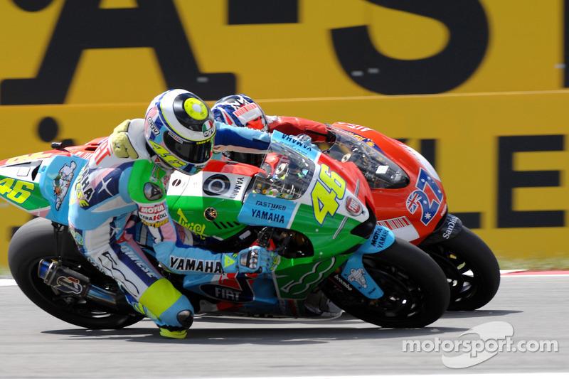 2007 : Валентино Россі (Fiat Yamaha Team)