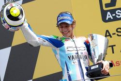 Podium: Rennseiger Valentino Rossi