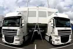 Honda Racing Team trucks