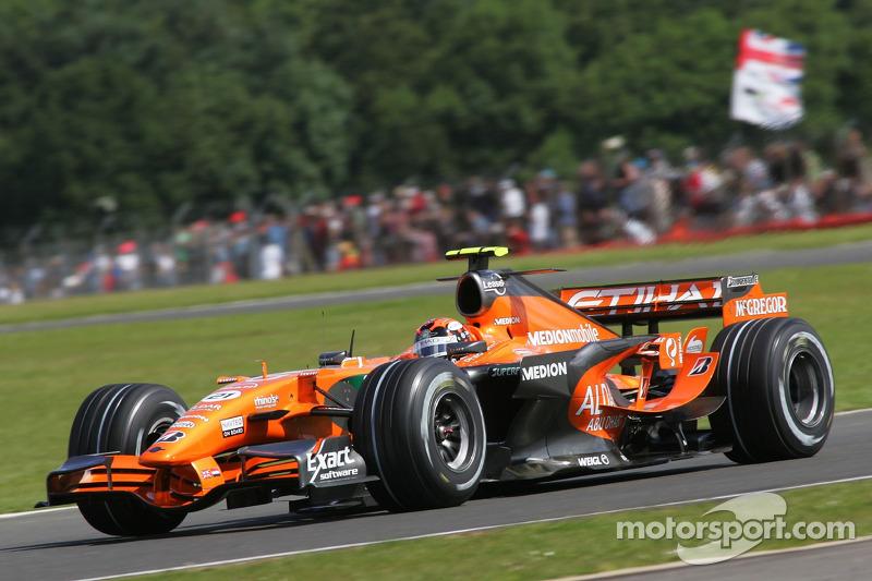 #21: Christijan Albers, Spyker F1 Team, F8-VII