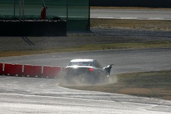 Christian Abt, Audi Sport Team Phoenix, Audi A4 DTM, retires from the race with damage to the right front after contact with Martin Tomczyk, Audi Sport Team Abt Sportsline, Audi A4 DTM