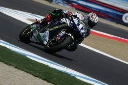 Miguel Duhamel en la moto Honda Gresini MotoGP