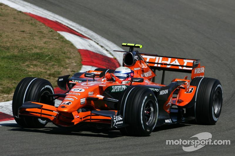 #21: Markus Winkelhock, Spyker F1 Team, F8-VII