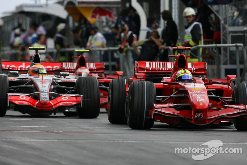 Феліпе Масса, Scuderia Ferrari, F2007, Льюіс Хемілтон,, McLaren Mercedes, MP4-22