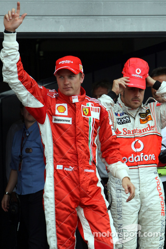 Фернандо Алонсо, McLaren Mercedes, Кімі Райкконен, Scuderia Ferrari