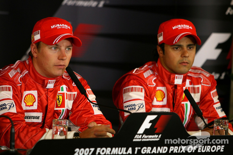 Кімі Райкконен, Scuderia Ferrari, Феліпе Масса, Scuderia Ferrari