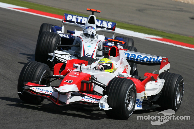 Ральф Шумахер, Toyota Racing, TF107, Нік Хайдфельд, BMW Sauber F1 Team, F1.07