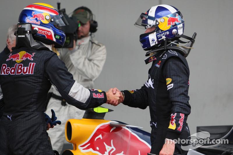 Марк Веббер, Девід Култхард, Red Bull Racing